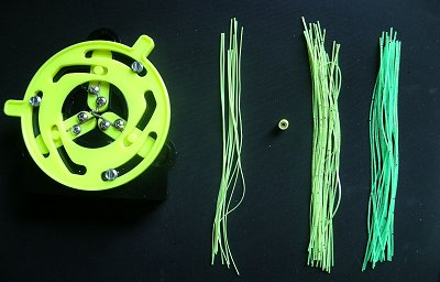 Composants de jupe de spinnerbait